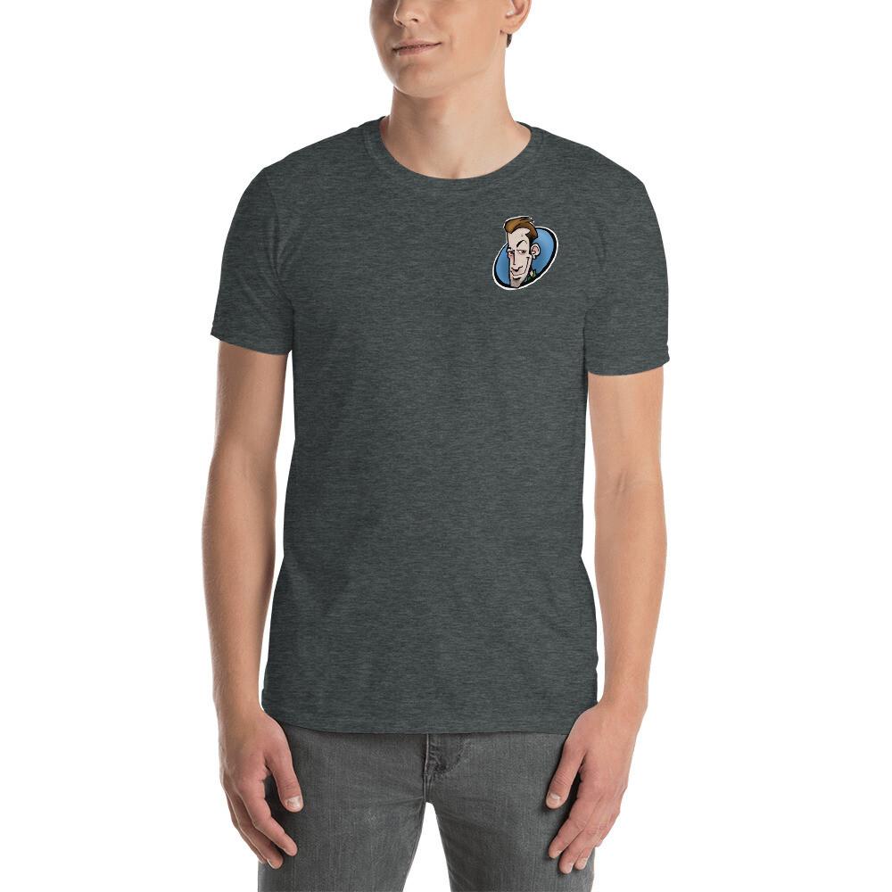 Sketchy Guy Logo Short-Sleeve Unisex T-Shirt