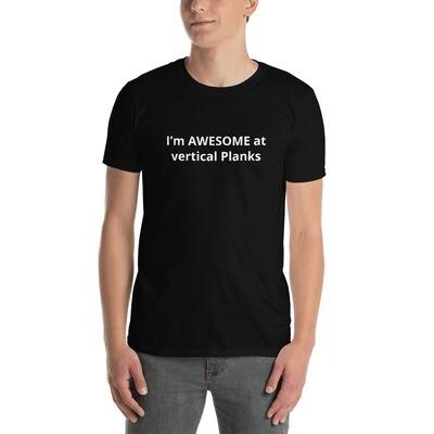 Vertical Planks Short-Sleeve Unisex T-Shirt