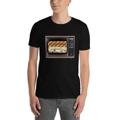 Gaslands TV Warning Short-Sleeve Unisex T-Shirt
