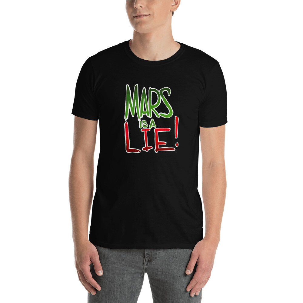 Gaslands Mars is a Lie Short-Sleeve Unisex T-Shirt