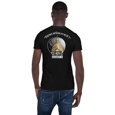 "Capital Corsairs ""SpaceSauce37"" Short-Sleeve Unisex T-Shirt"