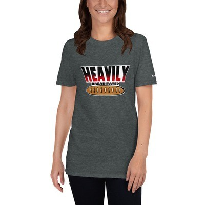 Heavily Breaditated - Short-Sleeve Unisex T-Shirt