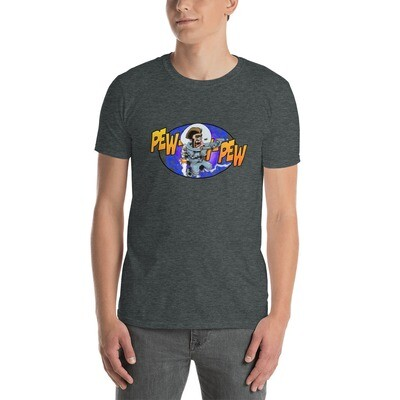 Blake PEW-PEW-PEW Short-Sleeve Unisex T-Shirt