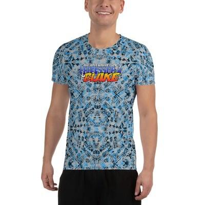 Professor G and Blake - All-Over Print Men's Athletic T-shirt