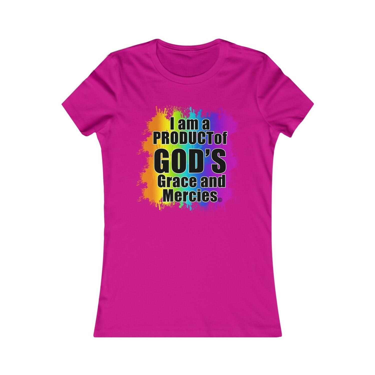 PRODUCT OF GOD'S GRACE AND MERCIES - WOMEN'S BLOUSE