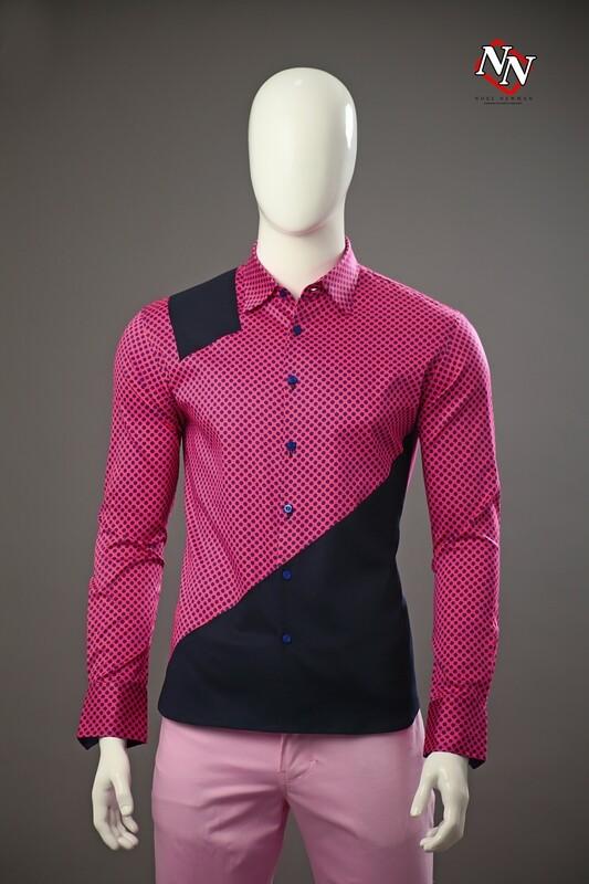 Camisa con corte asimétrico
