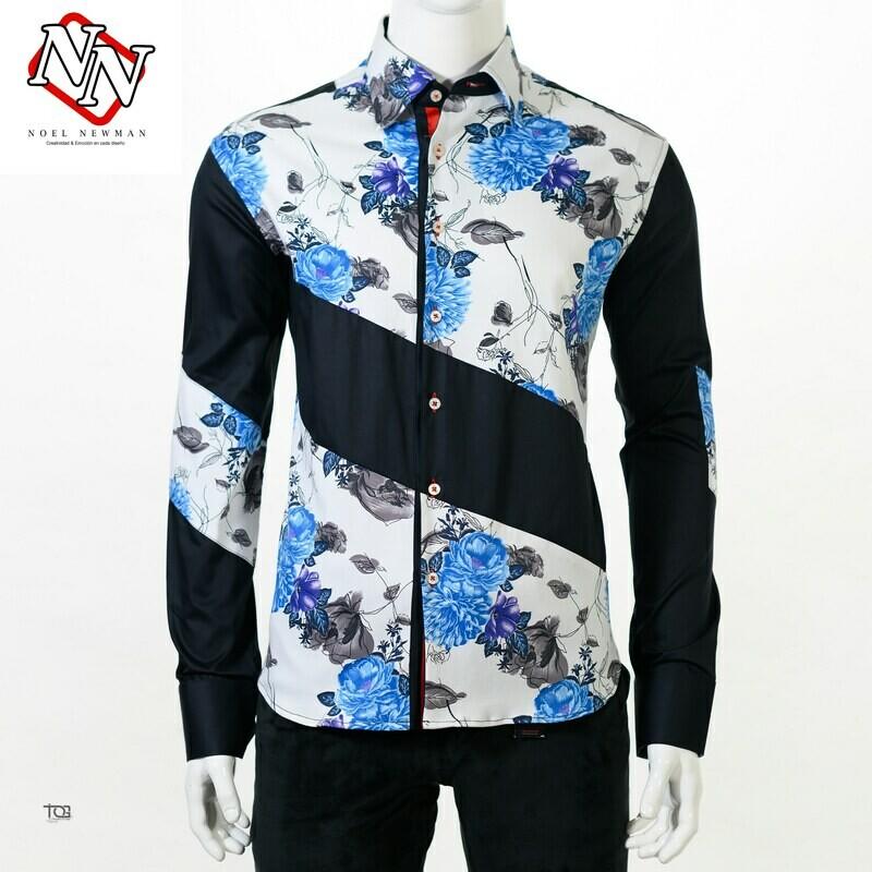 Camisa con corté asimétrico
