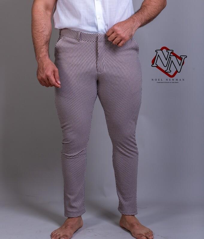 Pantalon  Houndstooh....