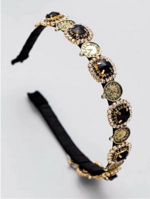 Antique Coin Headband