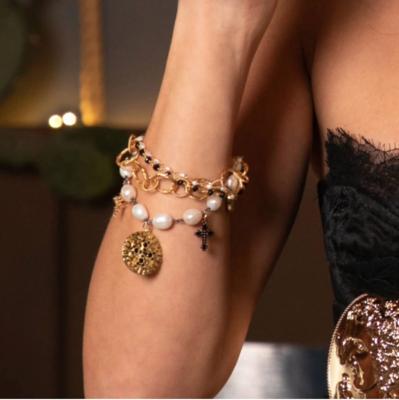 Palazzolo Baroque Pearl Bracelet