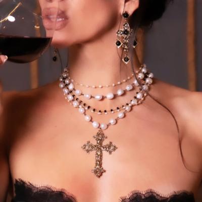 Palazzolo Baroque Pearl Necklace