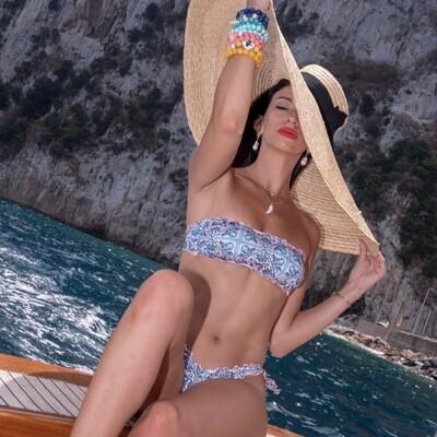 Maiolica Bandeau Bikini