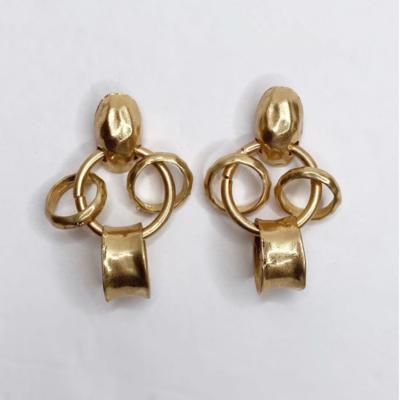 Carmela Gold Link Earring