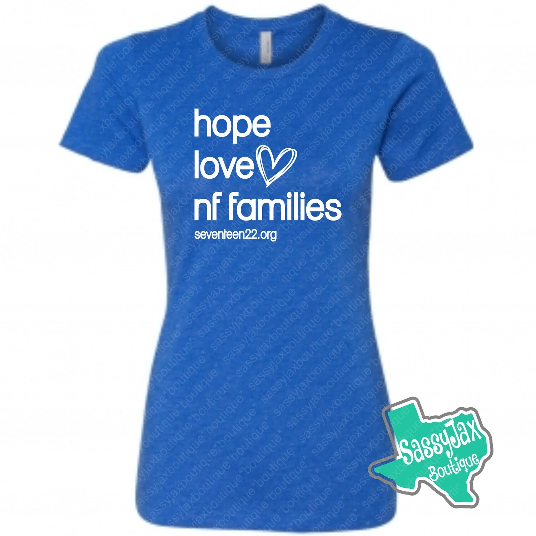 NF Awareness LADIES T-Shirt_RB