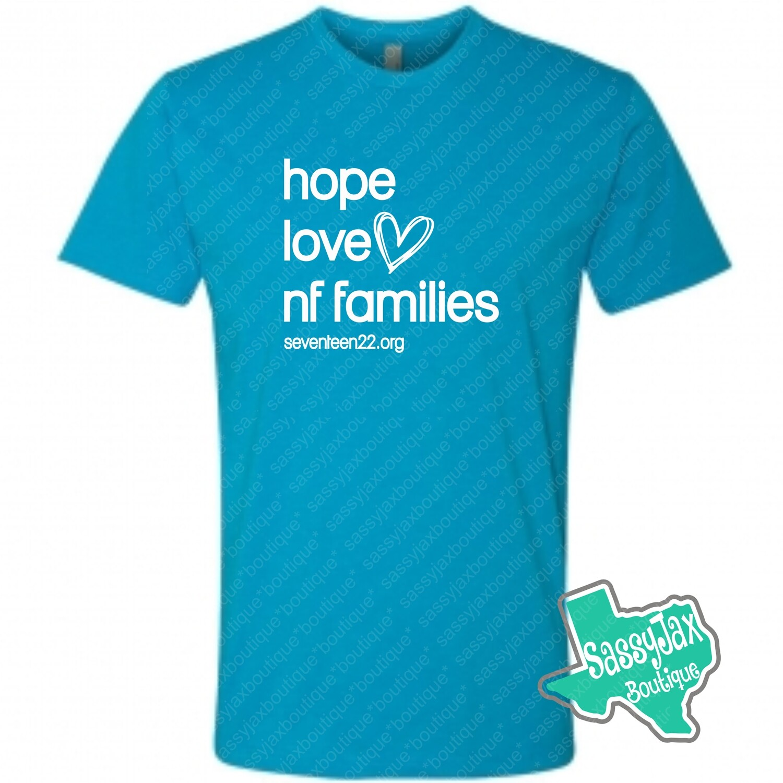 NF Awareness UNISEX T-Shirt_TUR