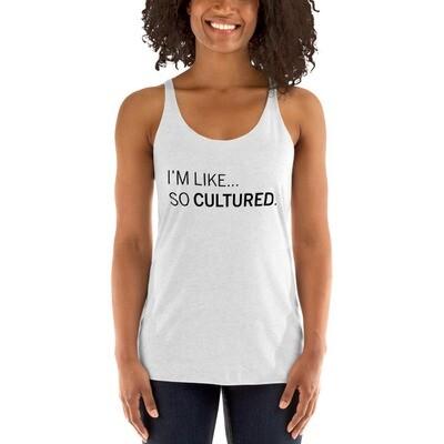 Like So Cultured Tank