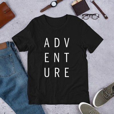 Adventure Short-Sleeve Unisex T-Shirt
