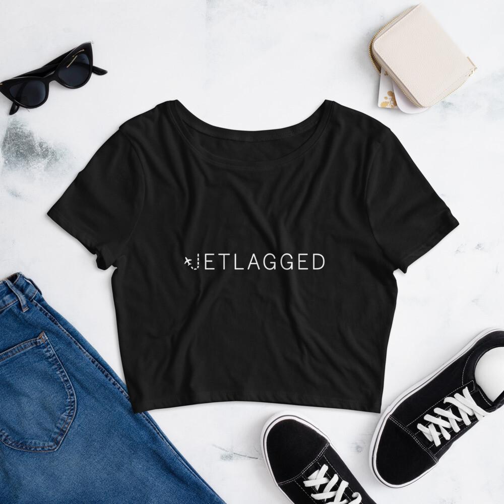 Jetlagged Crop Tee
