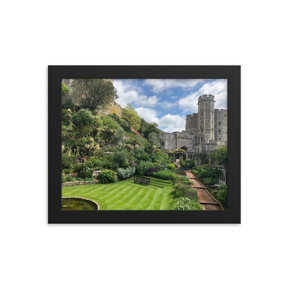 Framed Windsor Castle Print