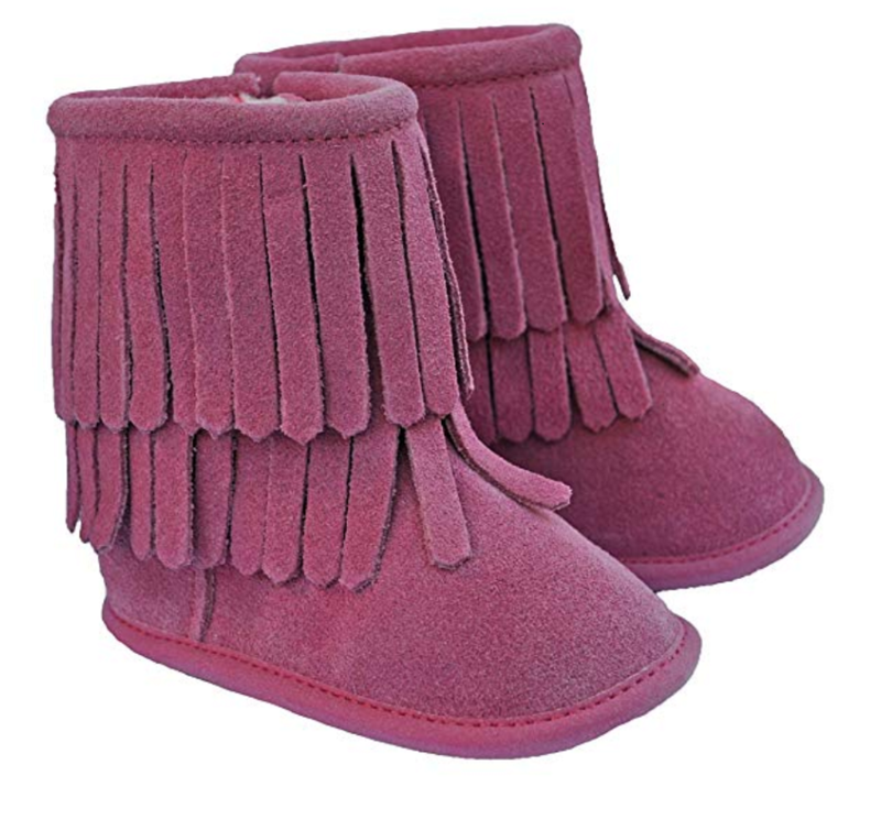 Moccasins Boots - Pink