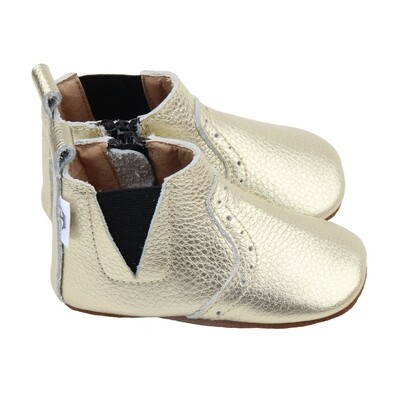 Oxford Chelsea Bootie - Gold