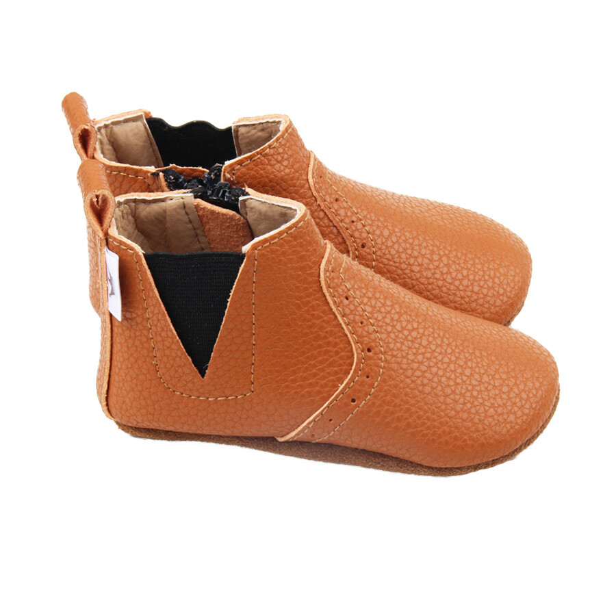 Oxford Chelsea Bootie - Brown