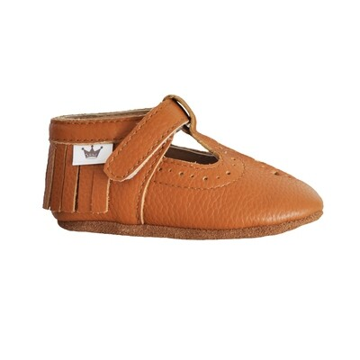 Moccasins T-Bars - Brown