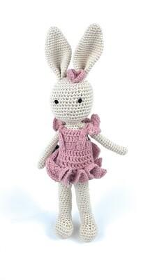 Crochet Bunny - Mom pink