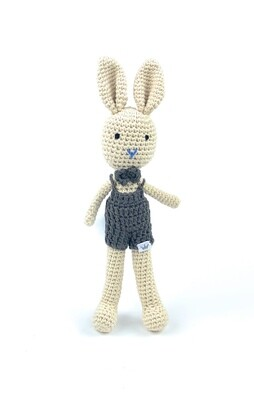 Crochet Bunny - Son Brown