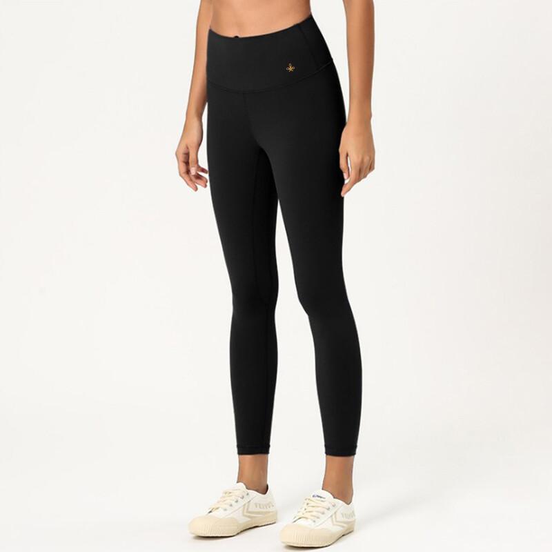 Leggings Yoga Pants seamless - black