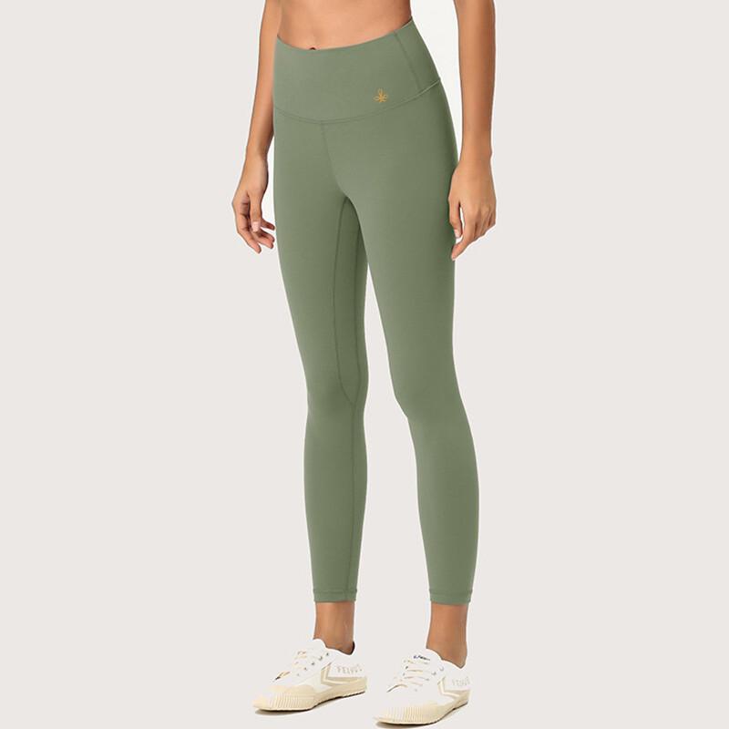 Leggings Yoga Pants seamless - moss green