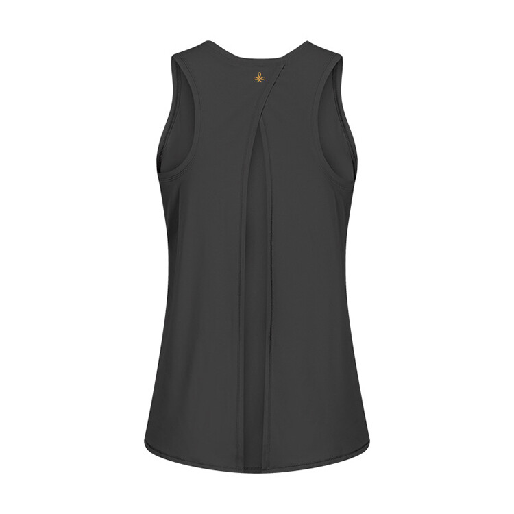 Active Yoga Top knotted in back - black