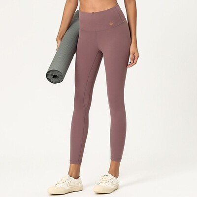 Leggings Yoga Pants seamless - dove feather grey