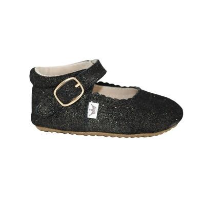 Oxford Mary Jane's - Black Sparkle