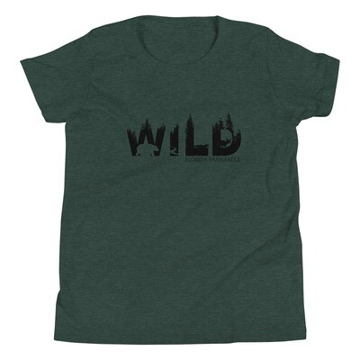 WILD Youth Tee (multiple colors available)