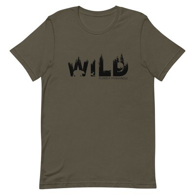 WILD Unisex Tee (multiple colors available)