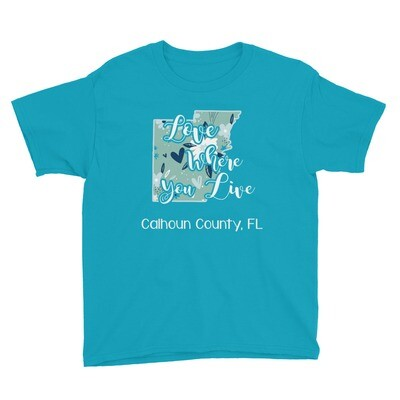 Love Where You Live Youth Tee (multiple colors available)