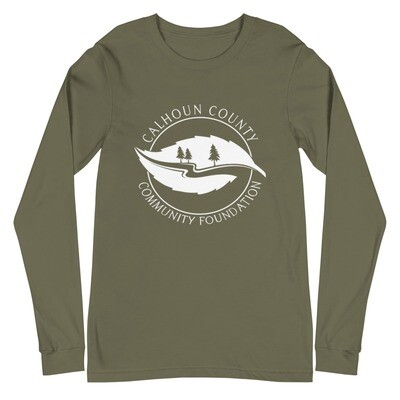 Community Foundation Logo Long Sleeve Tee (multiple colors available)