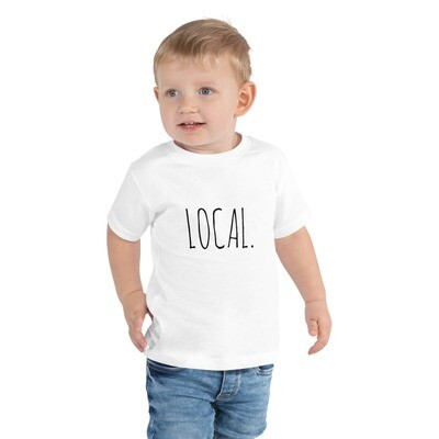 Local Toddler Tee (multiple colors available)