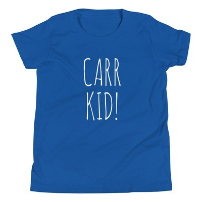 Carr Kid Youth Tee (multiple colors available)