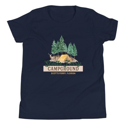 Scotts Ferry Campground Youth Tee (multiple colors available)