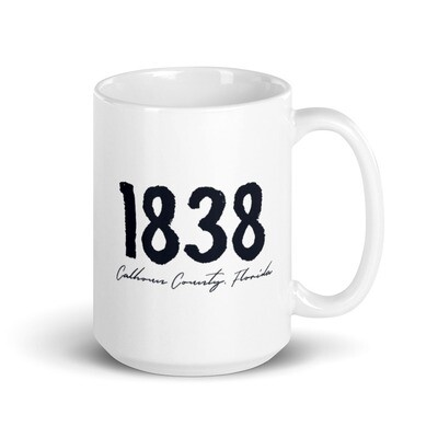 1838 Calhoun County Coffee Mug