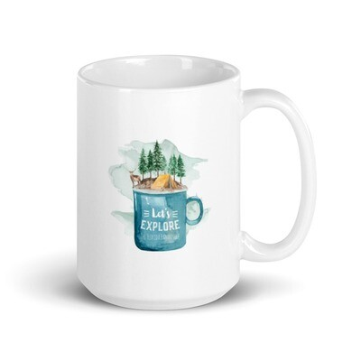 Let's Explore the FL Panhandle Coffee Mug (various size options)