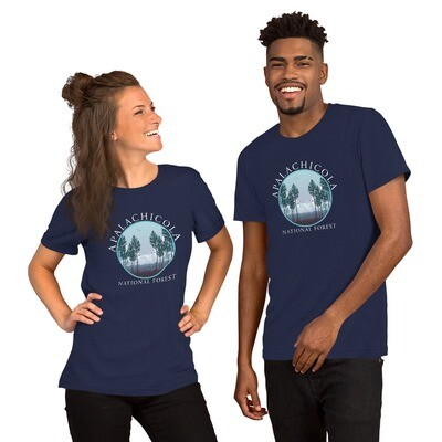 Apalachicola Natl Forest Unisex Tee (multiple colors available)