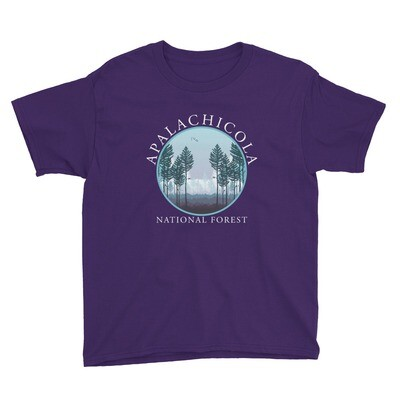 Apalachicola Natl Forest Youth Tee (multiple colors available)