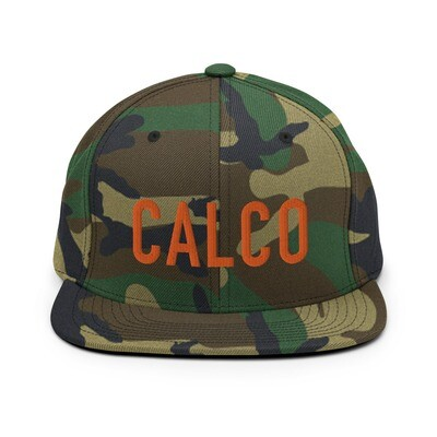Camo CALCO Snapback Hat