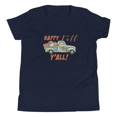 Happy Fall Y'all Youth Tee