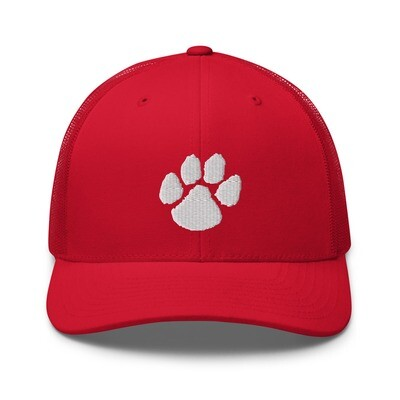 Paw Print Trucker Cap (multiple colors available)