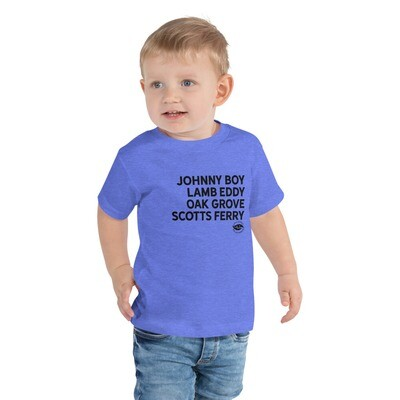 CalCo River Landings Toddler Tee (multiple colors available)
