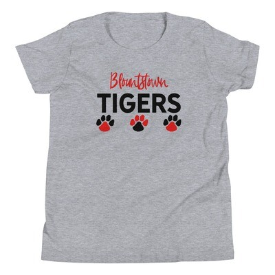 Blountstown Tigers Youth Tee (multiple colors available)